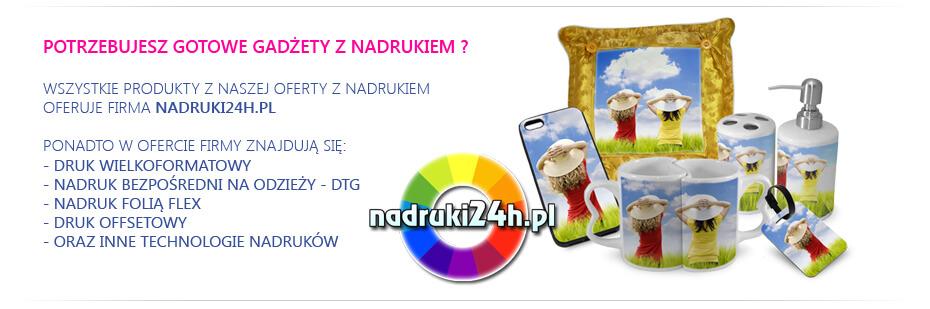 Fotogadżety - gadżety ze zdjęciem - nadruki24h.pl